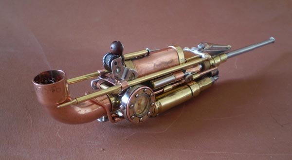 Steampunk Works by Ivan Mavrovic