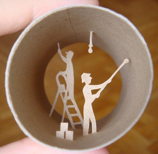 Crafts Made With Toilet Paper Rolls