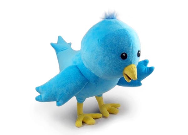 Twitter Bird Plush Toy