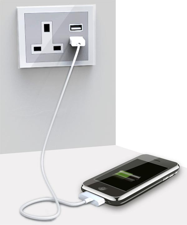 USB Hub AC Outlet Design Concept