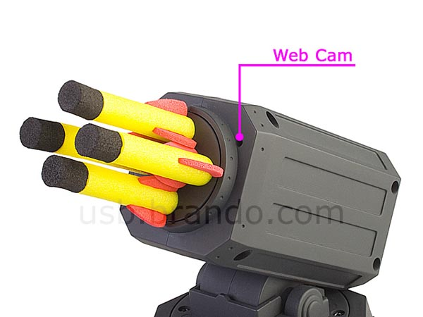 USB O.I.C. Missile Launcher Integrated Web Cam