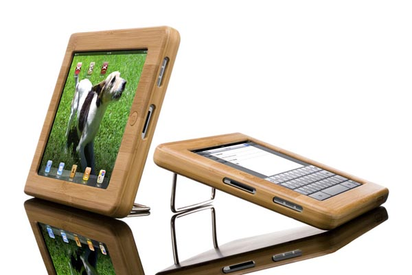 Vers iPad Wooden Case - Bamboo Wood