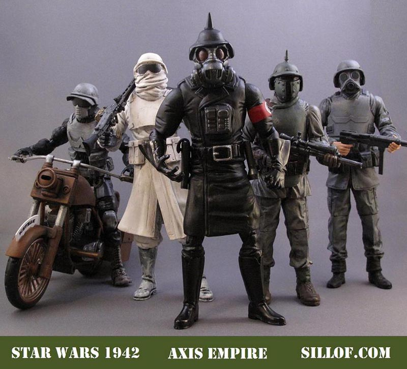 This set of custom Star Wars figures inspired by World War 2 will tell us.