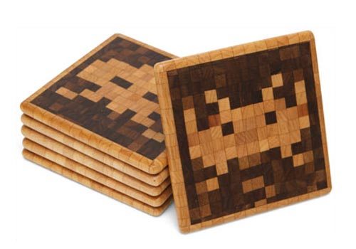 Yet Another Set of Space Invaders Coasters