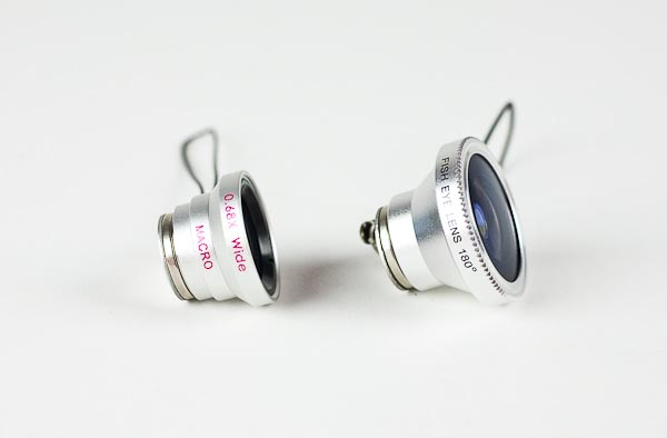 Zeiss Fisheye, Macro and Wide Angle Lenses for Camera Phone