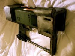 Fallout 3 AEP7 Laser Pistol Replica
