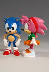 Cute Sonic Mini Figure Collection