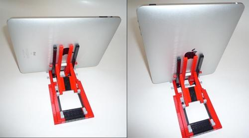 Stepless Adjustable LEGO iPad Stand from Legostand