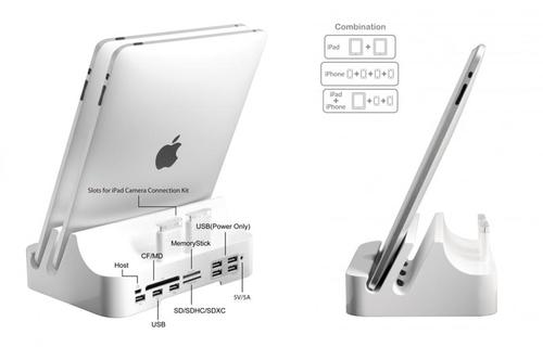 iPADock Docking Station for iPad, iPhone and iPod