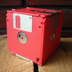 Floppy Disk Box Night Light
