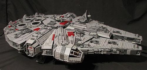 Star Wars LEGO Millennium Falcon with Full Interior