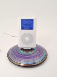 Handmade Colorful iPhone And iPod Dock