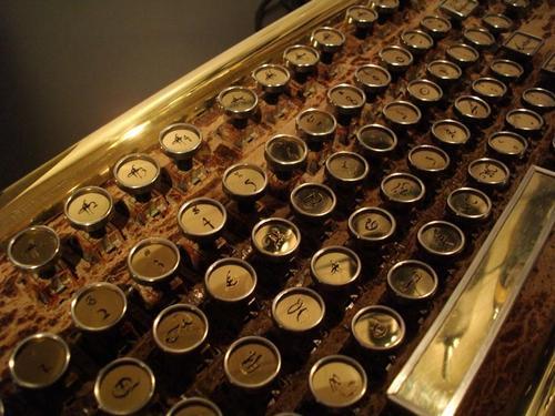Marquis Victorian Steampunk Keyboard
