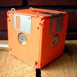 Floppy Disk Box Night Light