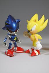 Cute Sonic Mini Figure Collection