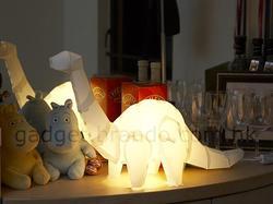 Assembled Giant Dinosaur Floor Lamp