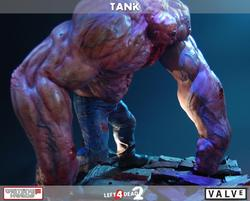 Left 4 Dead 2 Tank Collectible Figure