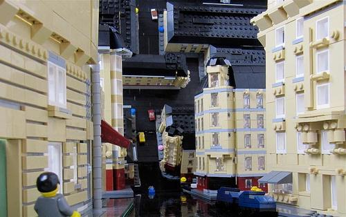 Another Classical Inception Movie Scene Built with LEGO Bricks