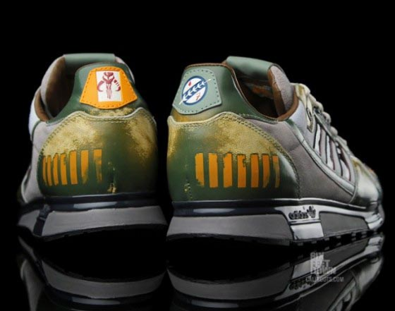 Adidas Star Wars Boba Fett ZX 800 Running Shoes | Gadgetsin