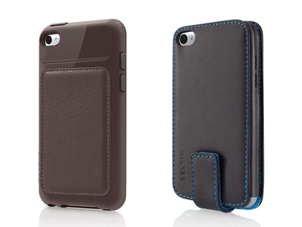 For the time being, the prices of Belkin new iPod touch cases range from