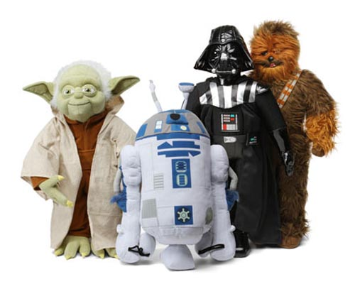 Bigger Star Wars Character Plush Toy
