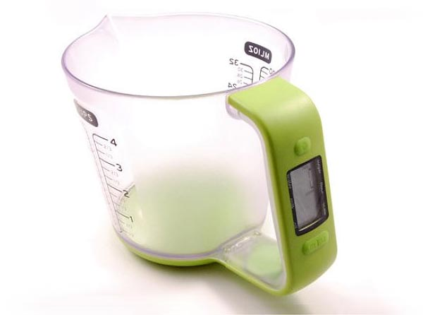 eKitch Digital Measuring Jug with Kitchen Scale