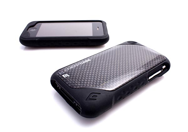 ElementCASE Carbon Fiber iPhone Cases - ION 3