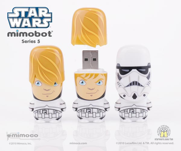 Exclusive Star Wars Stormtrooper Mimobot USB Flash Drive
