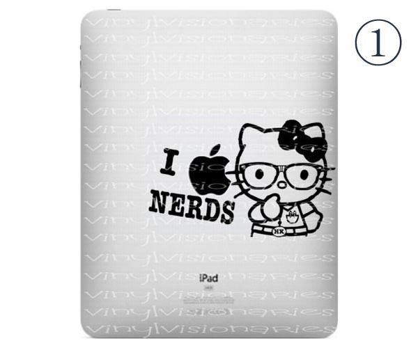 Five Cute Hello Kitty iPad Decals