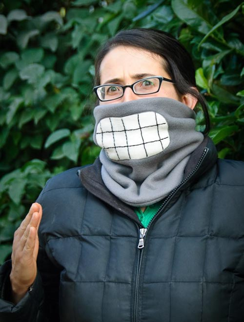 Futurama Bender Fleece Neck Warmer