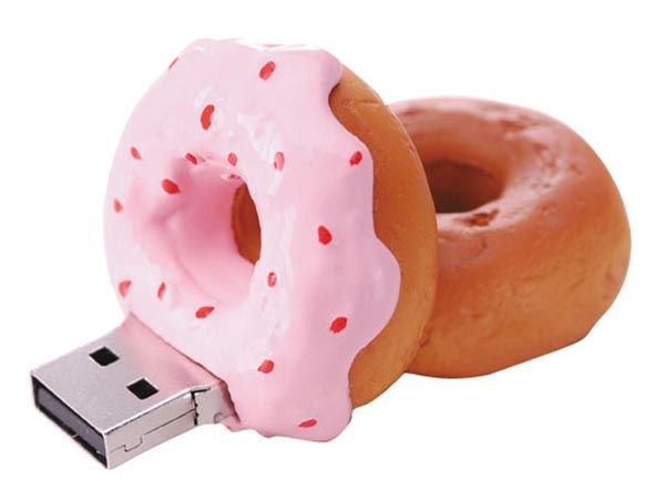 Green-House Donut Shaped USB Flash Drive