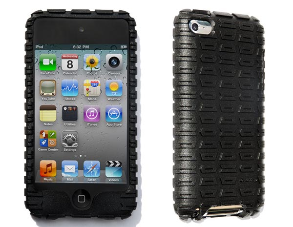 Gumdrop Moto Rubber iPod Touch 4G Case