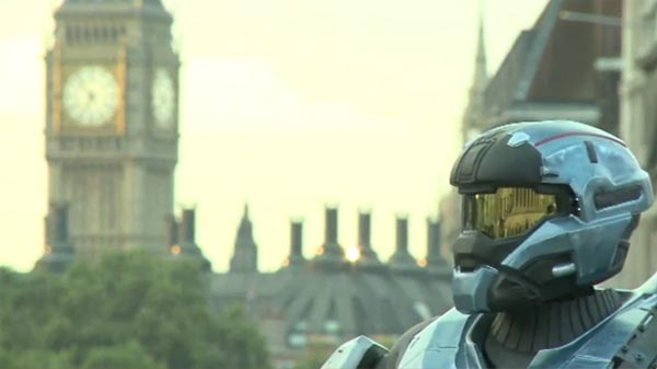 Halo Reach London by Spartan with Jetpack