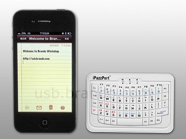 handheld mini bluetooth wireless keyboard gadgetsin. Black Bedroom Furniture Sets. Home Design Ideas