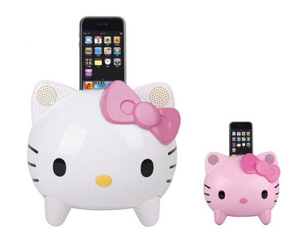 Hello Kitty iPod Dock Speaker