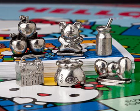 Hello Kitty Monopoly Board Game