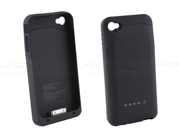 iPhone 4 Case with Battery Pack