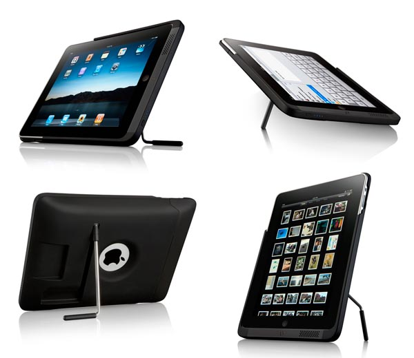 Kensington PowerBack iPad Case Integrated Stand, Battery and Dock