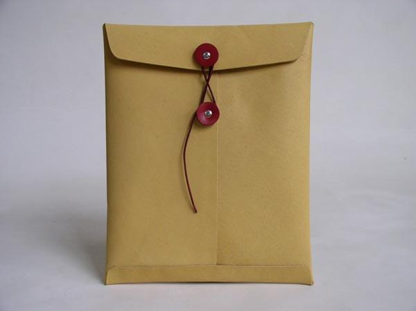 Manila Envelope Styled iPad Leather Case