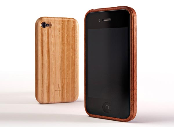 Miniot iWood iPhone 4 Wooden Case