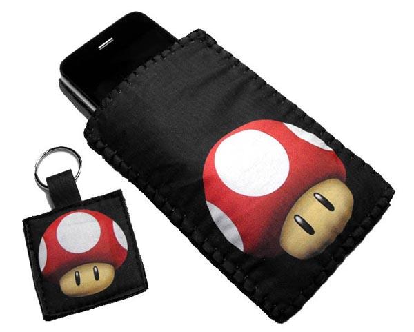 Mushroom iPod iPhone Case from Super Mario Bro