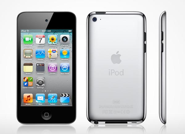 The new iPod touch is powered by A4 processor, and comes in 3 types of