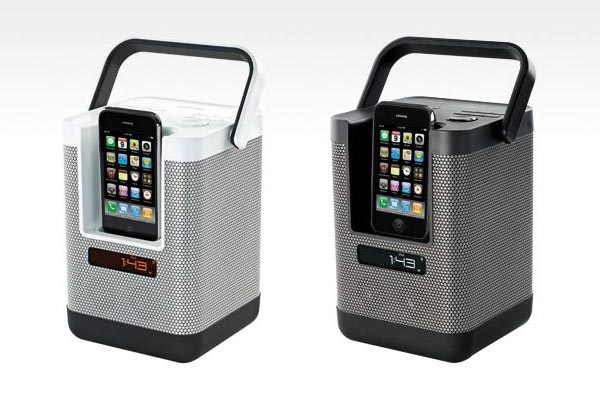 PartyCube Multi-Directional iPhone iPod Dock Speaker