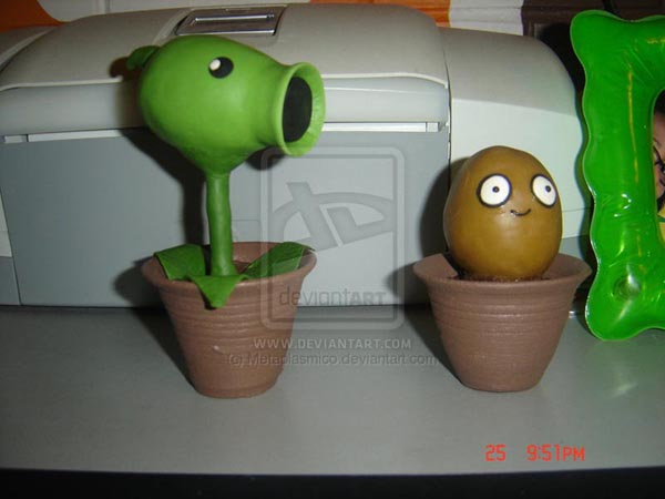 plants vs zombies 2 zombies. Plants vs Zombies Clay Figures