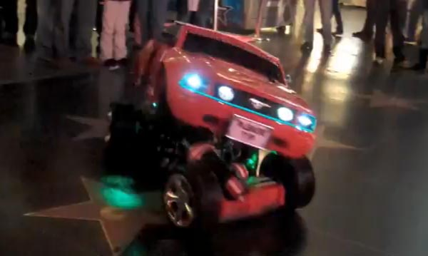 Real-Life Transformers Autobot in Action