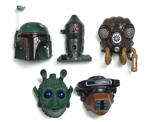 Star Wars Themed Fridge Magnets Set
