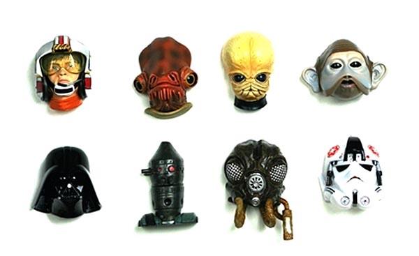 Star Wars Themed Fridge Magnets Set