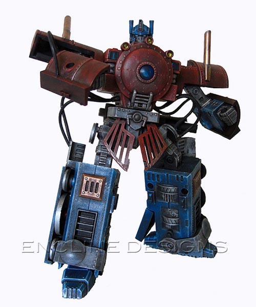 Steampunk Transformers Optimus Prime by Encline Design