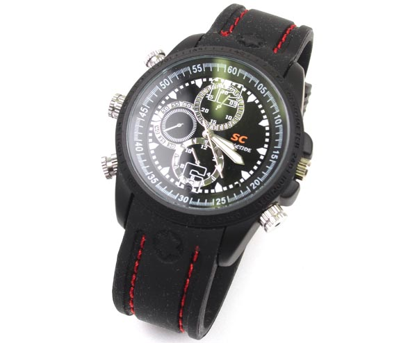 Thanko Waterproof Spy Watch Integrated HD Video Camera