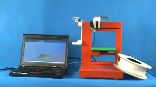 The UP! Portable Personal 3D Printer